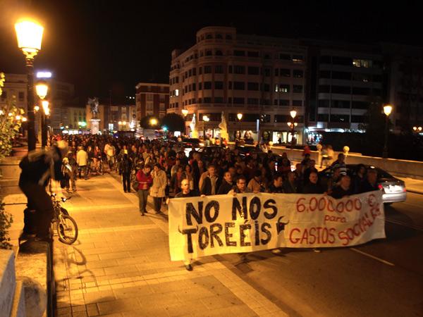 manifa1 - Plaza de Toros de Burgos: una nueva batalla contra la especulación urbanística