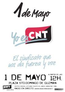1º Mayo CNT-Radio Burgos